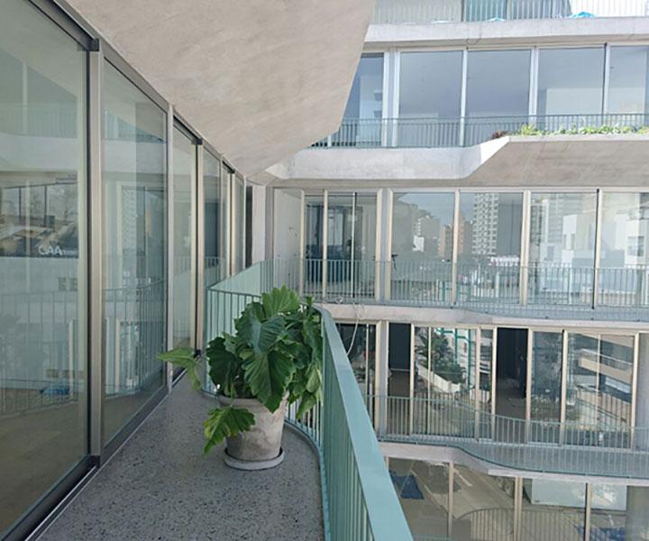 edificio fanning balcones