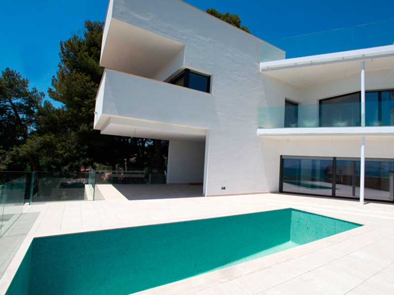 residencia mallorquina piscina