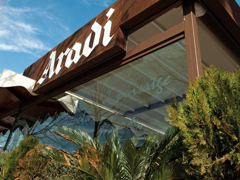 restaurante aradi entrada