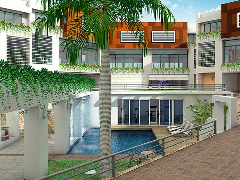 residencial water gardens