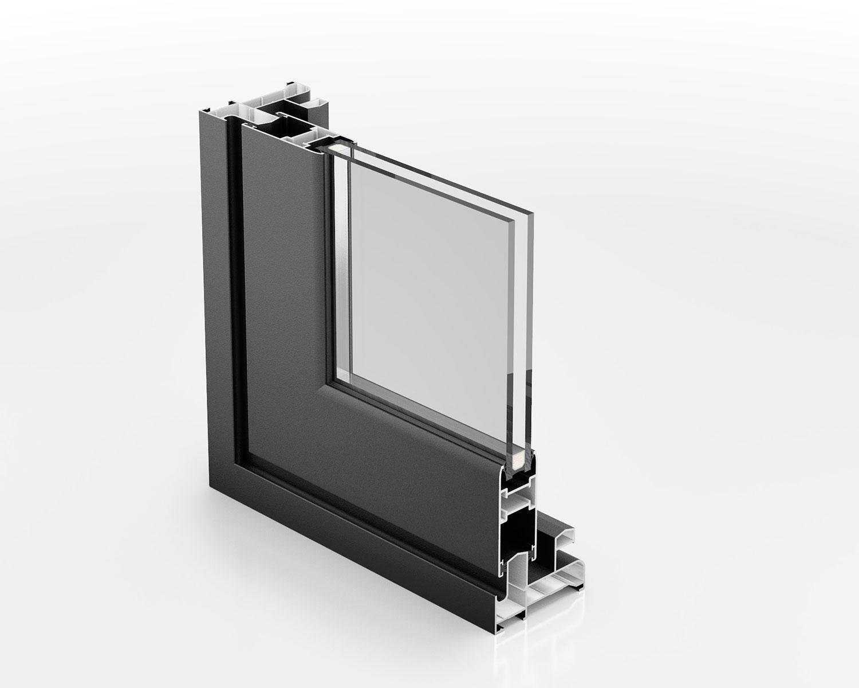 Serie thermia cf31 thermia barcelona ventanas para for Perfiles de aluminio barcelona