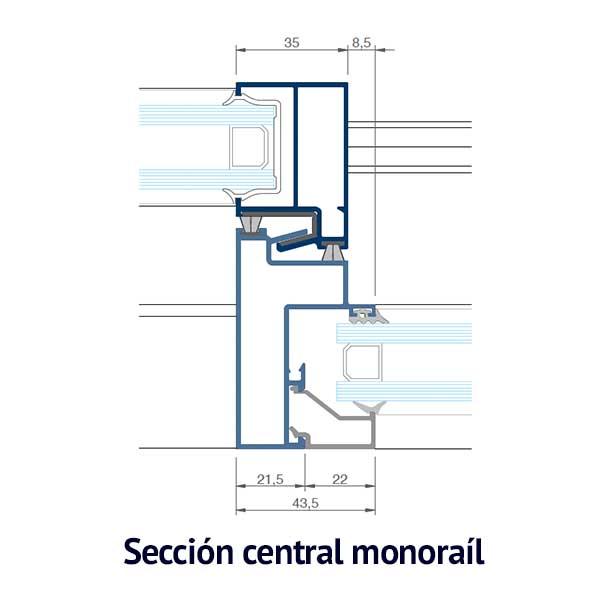 cruce croquis monorail