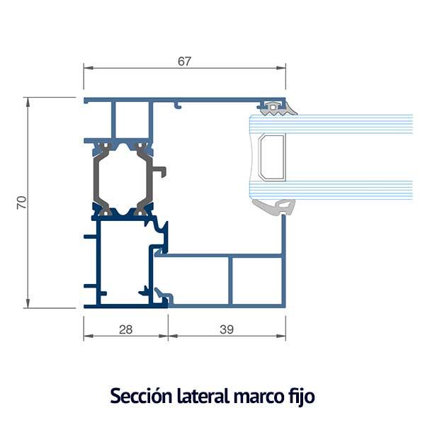 seccion marco fijo