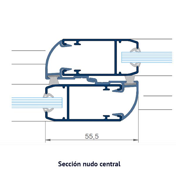nudo central