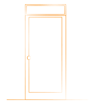 estructura puerta individual