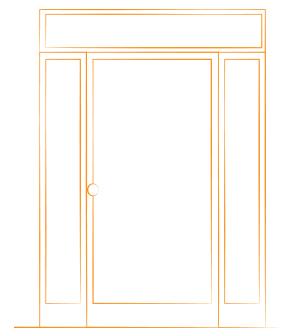 estructura puerta tres