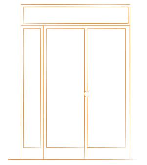 estructura puerta