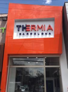 Showroom de ventanas de aluminio en Bogotá