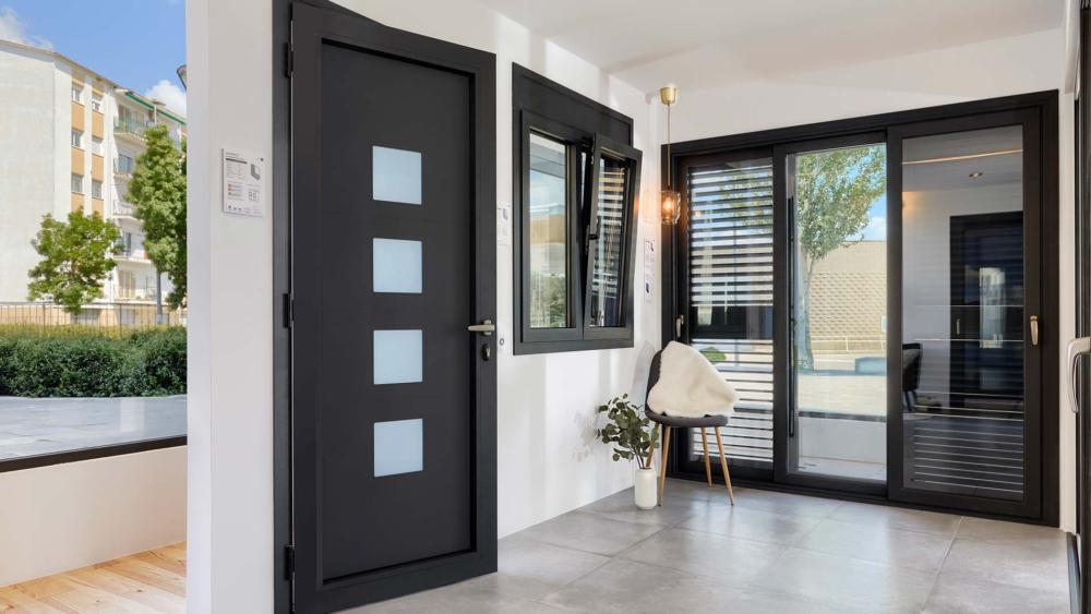 Puertas entrada - Hoja oculta - Ventanas Thermia