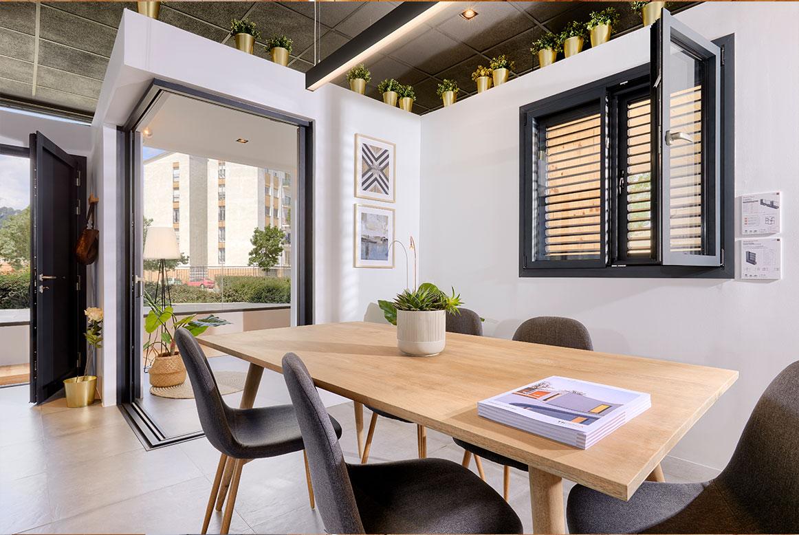 Showroom ventanas Thermia en Girona