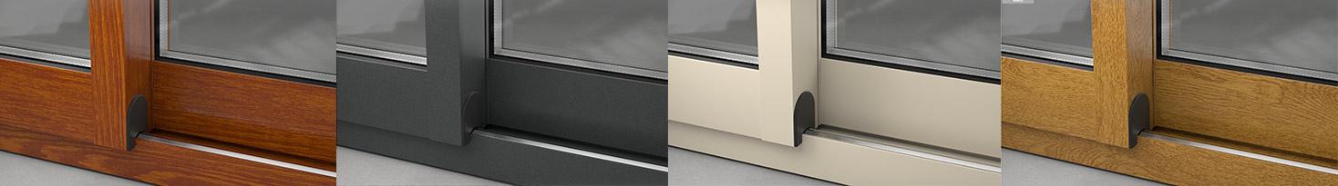 Acabados y colores en ventanas de aluminio