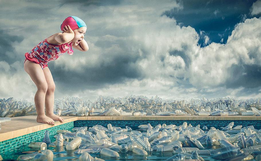 Contaminacion agua por plastico
