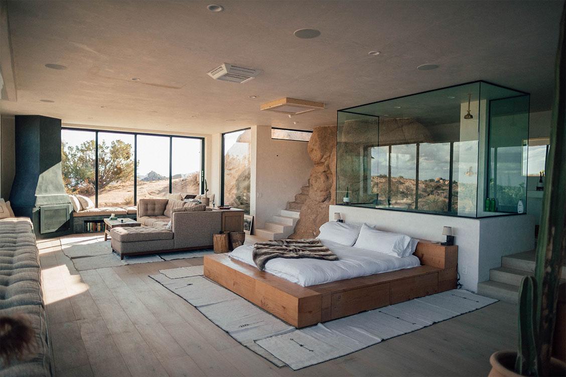 diseño interior espacio diafano