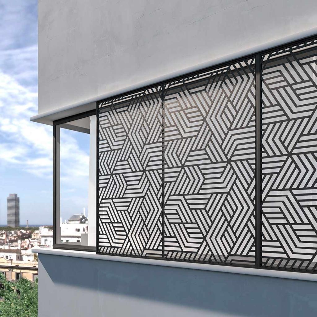 Thermia DECOR para protección de fachada