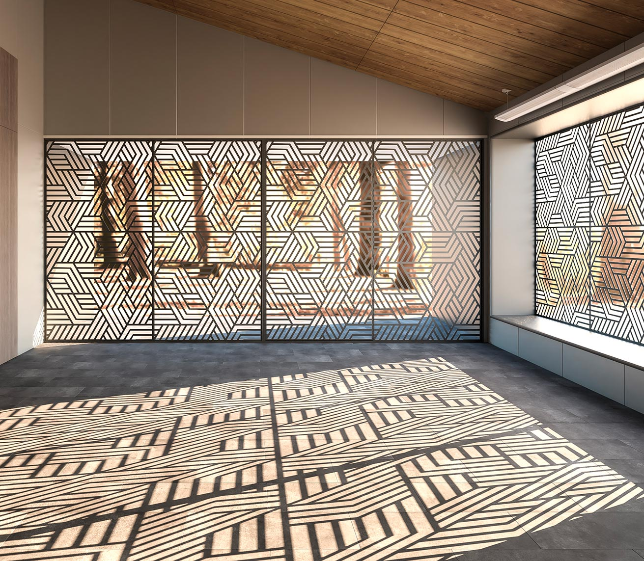 thermia decor elemento arquitectura solar pasiva