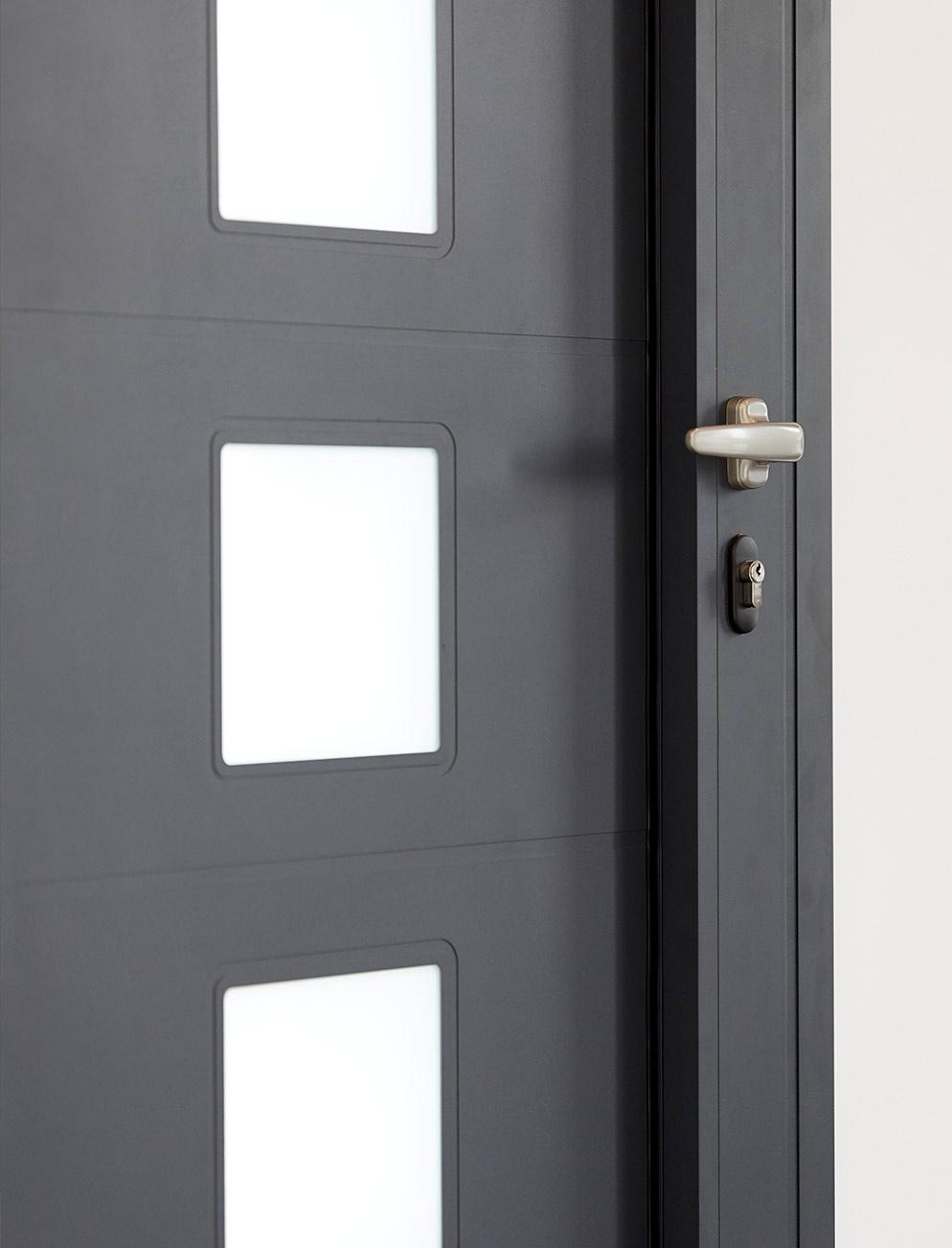 panel puerta entrada Thermia
