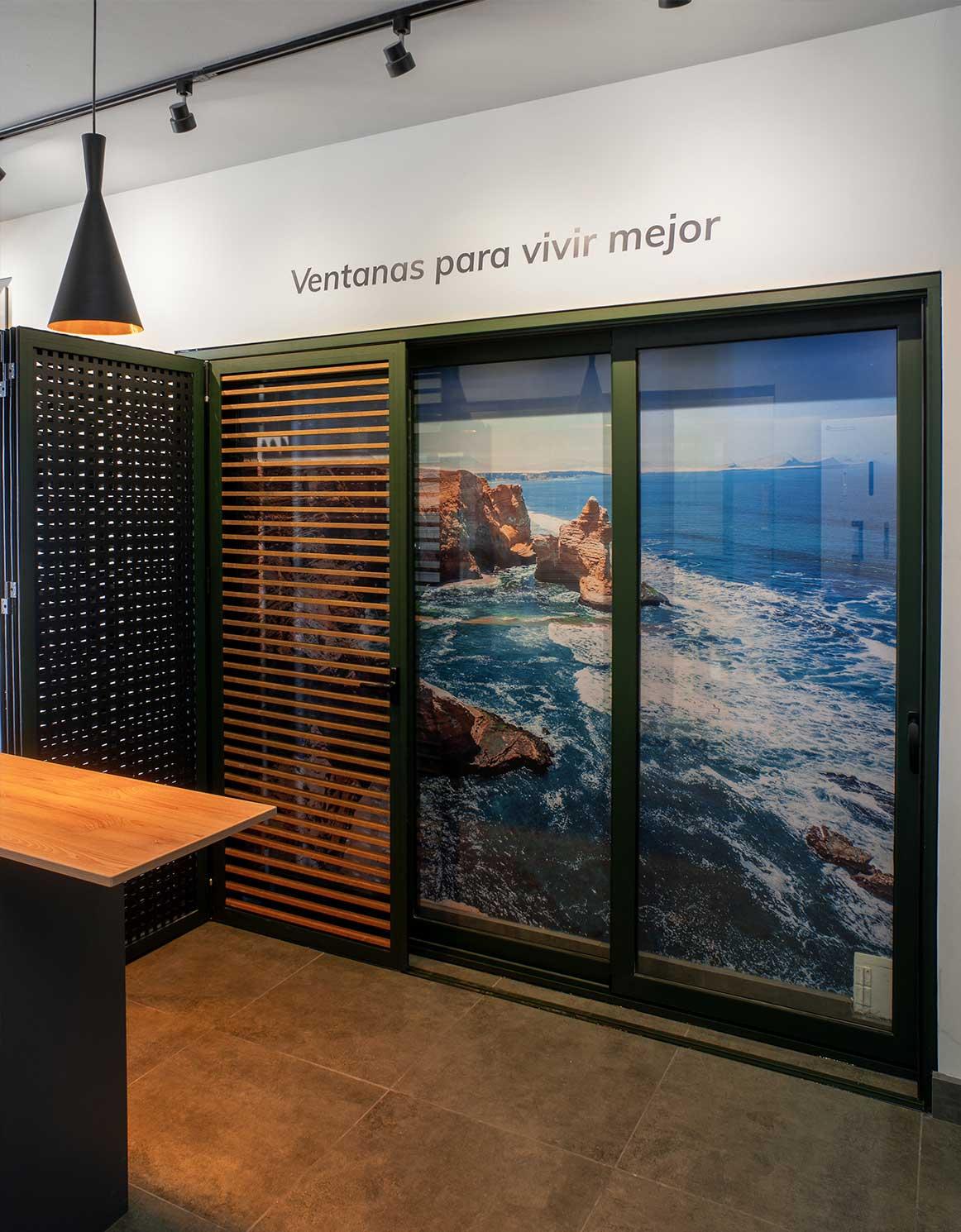 Showroom ventanas Thermia en Arequipa