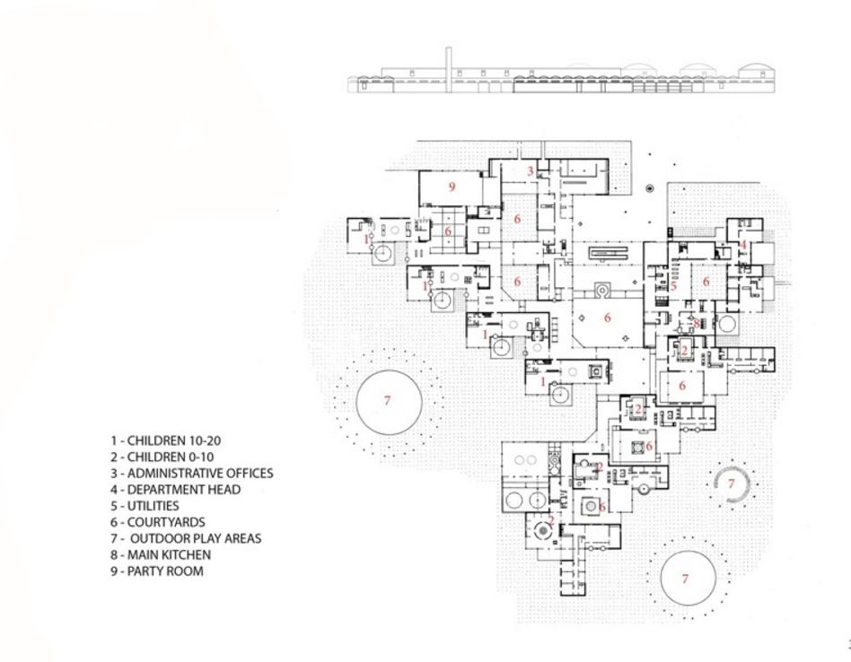Distribución espacios Orfanato Amsterdam Aldo Van Distribución espacios Orfanato Amsterdam Aldo Van Eyck