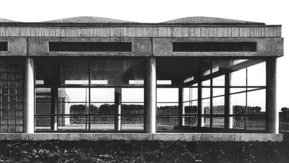 Aldo Van Eyck concepto in-between Orfanato de Amsterdam