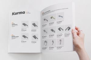 Catálogo Karma nueva línea manillas para sistemas Thermia